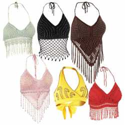 Casual Outfitters™ 6pc Ladies' Halter Top Set