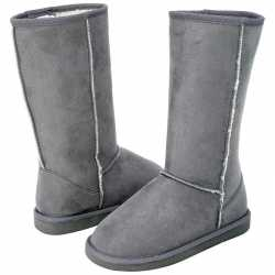 Casual Outfitters™ 12pc Ladies' Gray Microsuede