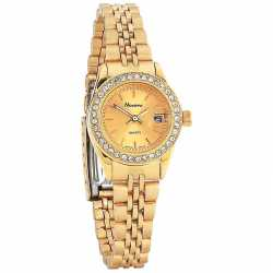 Navarre™ Ladies' Quartz Watch with Date LADIES GLD