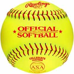 "Rawlings Softball Fast Pitch 12"" 12/Pk"
