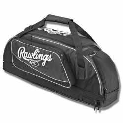Rawlings Bat Bag Wheeled Black 3