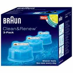 Procter and Gamble Braun Clean & Renew Cart 3pk