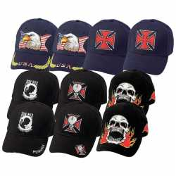 Diamond Plate™ 10pc Ball Cap Set with Embroidered