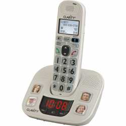 Clarity AMPLIFIED CORDLESS PHONE WITHPHOTO DIAL