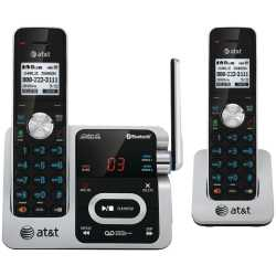 ATT ATT ATTTL92271 DECT 6.0 TWO-HANDSET PHONE WITH