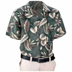 Casual Outfitters™ 6pc Button-Down Green Floral Pr