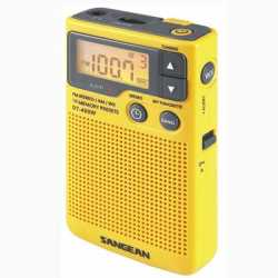 Sangean America AM/FM/Aux weather alert Radio