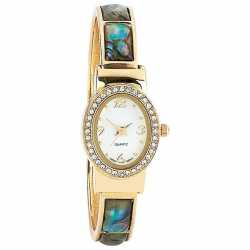 Navarre™ Ladies' Quartz Watch LADIES WTCH W/ GOLD